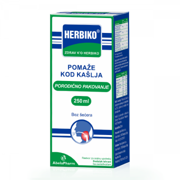 Herbiko sirup protiv kašlja 250ml - 1