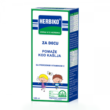 Herbiko dečiji sirup protiv kašlja 125ml