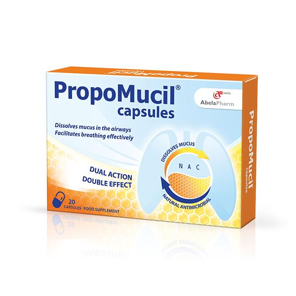 Herbiko PropoMucil 20 kapsula
