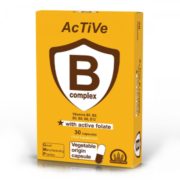 Active B complex 30 kapsula