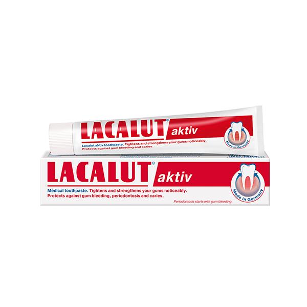 Lacalut Aktiv zubna pasta 75ml