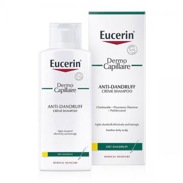 Eucerin DermoCapillaire krem šampon protiv suve peruti 250ml