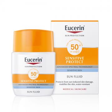 Eucerin Sun Protection fluid za zaštitu osetljive kože SPF50+ 50ml
