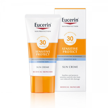 Eucerin Sun Protection krem za suvu i osetljivu kožu SPF 30+ 50ml