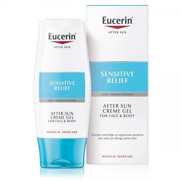 Eucerin Sensitive Relief umirujući krem-gel posle sunčanja 150ml