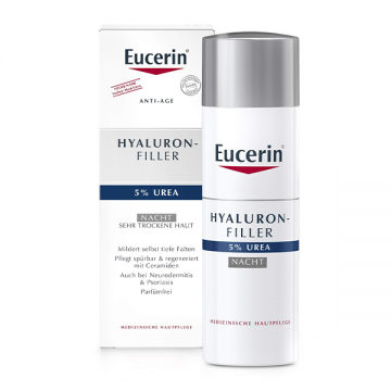 Eucerin Hyaluron-Filler 5% Urea noćna krema 50ml