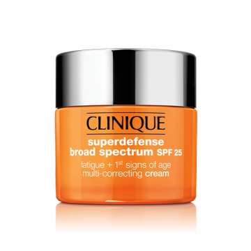 Clinique Superdefense SPF 25 Fatigue + 1st signs of Age Multi-Correcting Cream 30ml