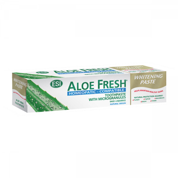 ESI Aloe Fresh Whitening - Homeopathic pasta za zube 100ml
