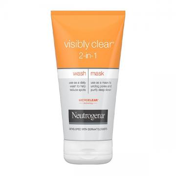 Visibly Clear 2-u-1 maska i gel za čišćenje lica 150ml - 1