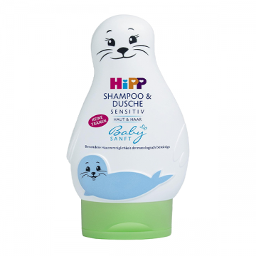 Hipp Babysanft šampon i gel za kupanje 200ml