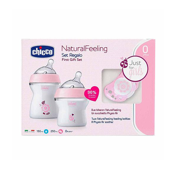 Chicco Poklon set Naturalfeeling za devojčice