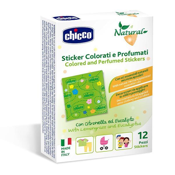 Chicco Zanza parfemisani stikeri 12 komada
