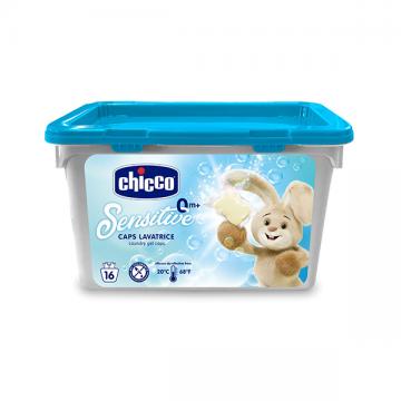 Chicco Sensitive kapsule za pranje veša 16 kom.