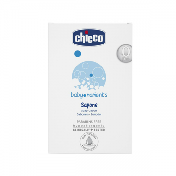 Chicco Baby Moments mlečni sapun 100g