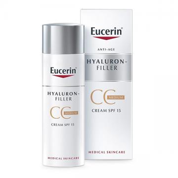 Eucerin Hyaluron-Filler CC krema tamna SPF15