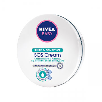 Nivea Baby Pure & Sensitive SOS intenzivna krema 150ml