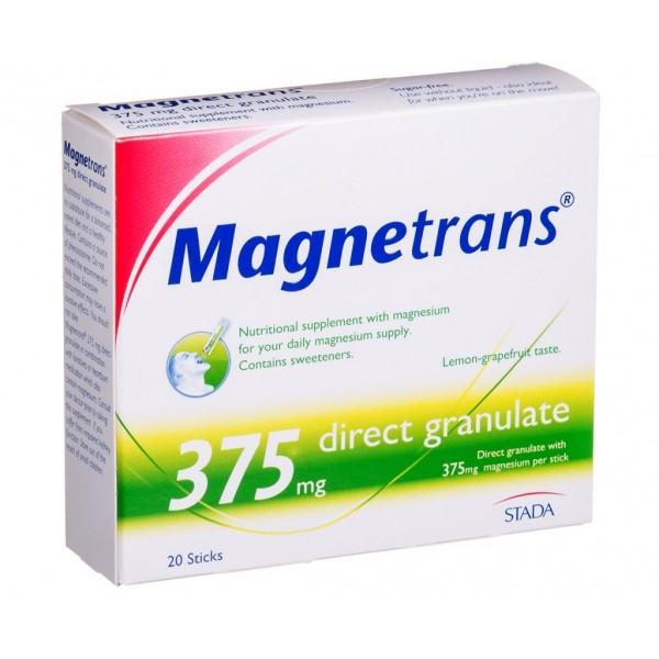 Stada Hemofarm Magnetrans direct granule 20x375mg