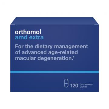 Orthomol AMD Extra 120 kapsula