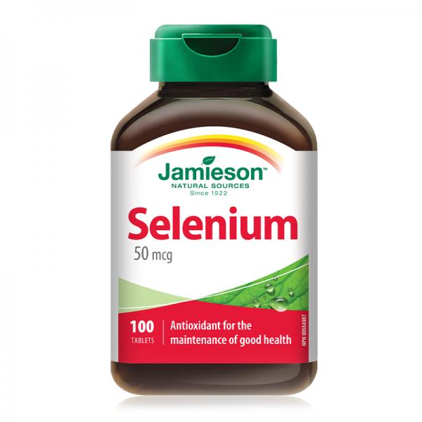 Jamieson Selenium 50mcg 100 tableta