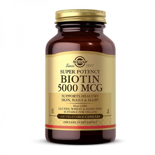 Solgar Biotin 300 MCG 100 tableta - 1