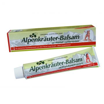 Alpski balzam za vene Alpenkräuter-Balsam 200ml