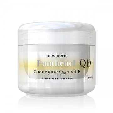 Mesmerie Panthenol Coenzyme Q10 + Vitamin E soft gel krema 100ml
