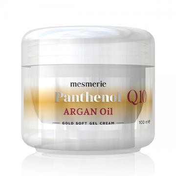 Mesmerie Panthenol Q10 Argan Oil gold soft gel krema 100ml