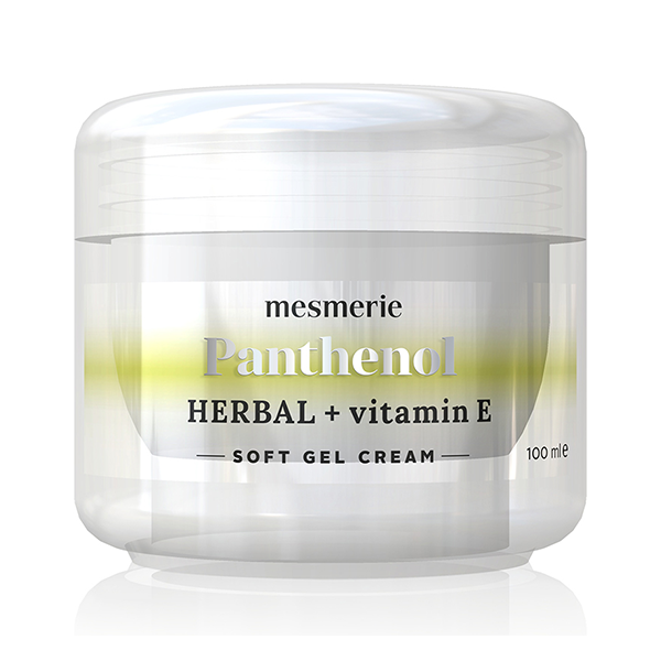 Mesmerie Panthenol Herbal + Vitamin E soft gel krema 100ml