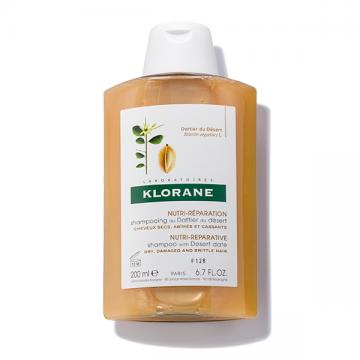 Klorane šampon za kosu pustinjska palma (suva, oštećena kosa) 200ml