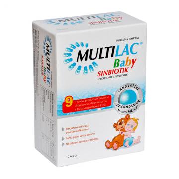Multilac Baby granule 10 kesica - 1