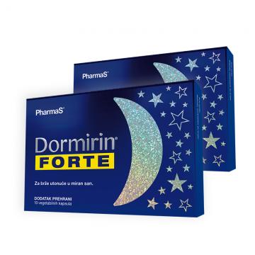Dormirin Forte 2x10 kapsula