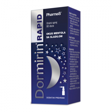 Dormirin Rapid sprej 10ml (80 doza)