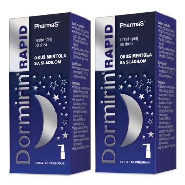 Dormirin Rapid sprej 10ml (80 doza) + 1 GRATIS