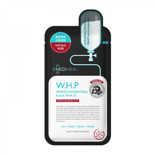 Mediheal W.H.P White Hydranting Black Mask EX 25ml