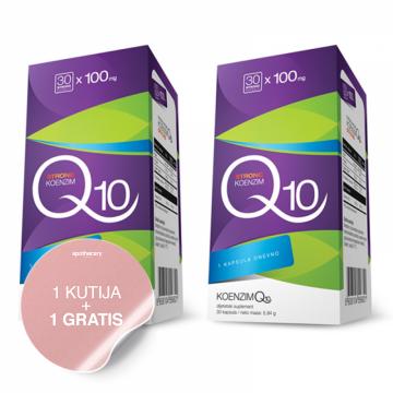 Koenzim Q10 30x100mg 1+1 GRATIS