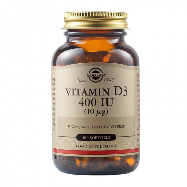 Solgar Vitamin D3 400IU 100 softgel kapsula - 1