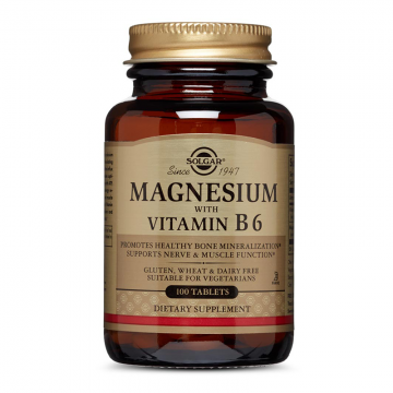 Solgar Magnezijum sa vitaminom B6 100 tableta