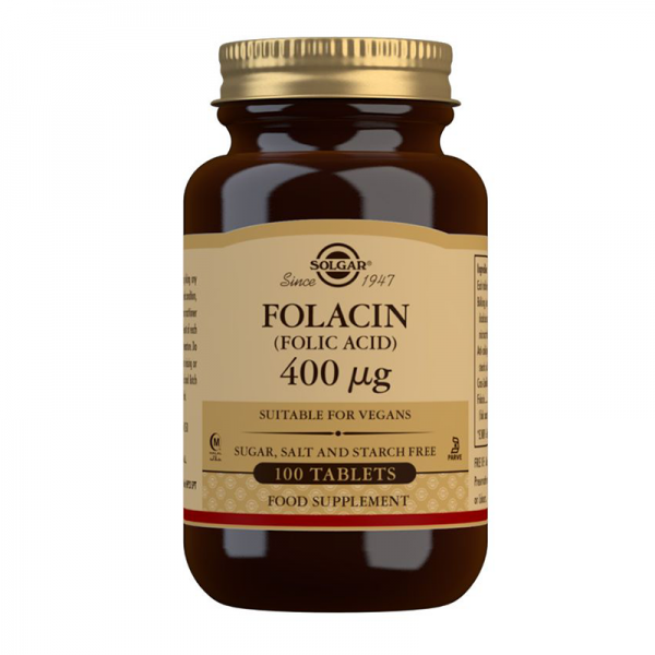 Solgar Folacin folna kiselina 400mcg 100 tableta