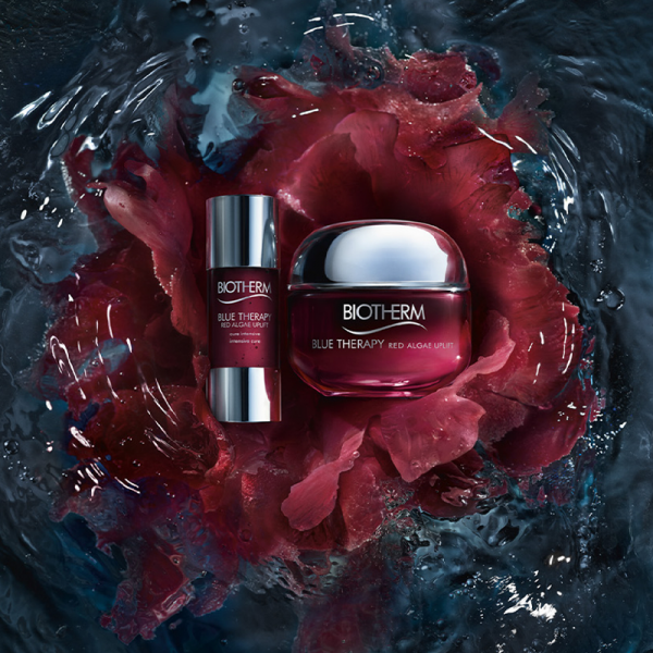 Biotherm Blue Therapy Red Algae Uplift 50ml + Blue Therapy Red Algae Uplift Intensive Cure 15ml