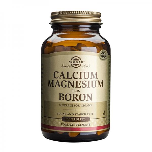 Solgar Kalcijum, Magnezijum + Bor 100 tableta