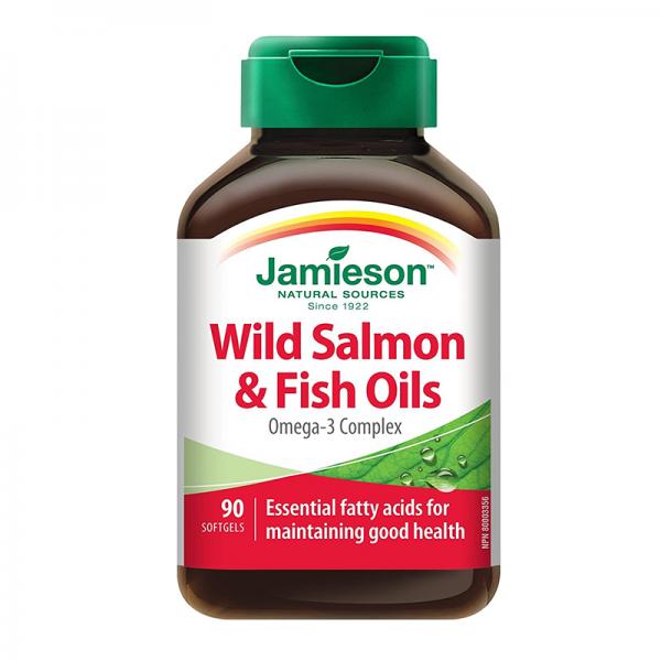 Jamieson Wild Salmon & Fish Oils 90 kapsula - 1