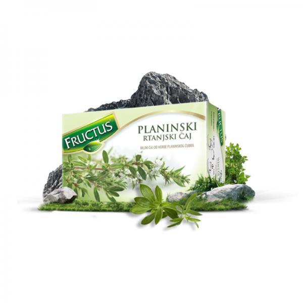 Fructus Planinski Rtanjski čaj (20 filter kesica)