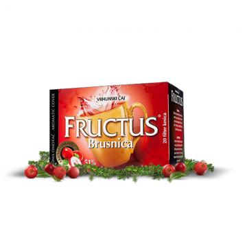Fructus Brusnica 51% čaj (20 filter kesica)