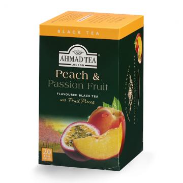 Ahmad Tea Peach & Passion Fruit crni čaj 40g (20 kesica)