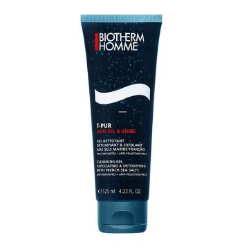 Biotherm Homme T-Pur anti-oil & shine gel za čišćenje lica 125ml
