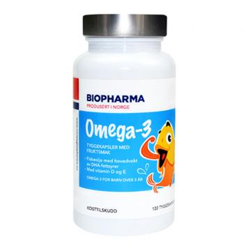 Biopharma Norveške Omega-3 kapsule za decu (120 soft gel kapsula)