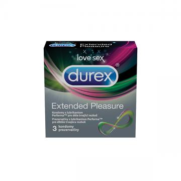 Durex Extended Pleasure prezervativ 3kom