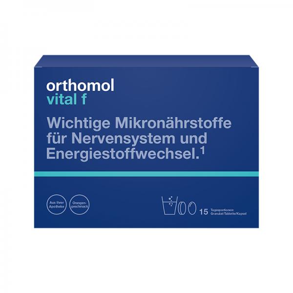 Orthomol Vital F 15 kesica