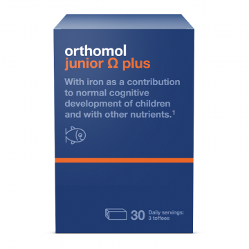Orthomol Junior Omega Plus 30 doza