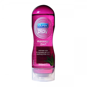 Durex Play Massage 2u1 aloe vera lubrikant i gel za masažu 200ml